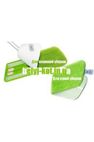 БК+ Насадка для влажной уборки(Швейцария) зеленая