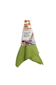 Комплект салфеток(2шт) Ребристых 24на24 см(зеленый) Тряпки Smart