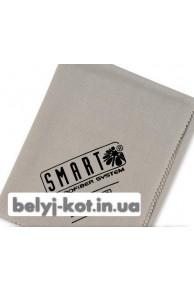 Салфетка Традиционная размер 70 на 50 (серая) Тряпки для мойки стекол Smart