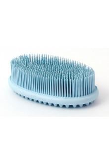 Щетка душ массаж Голубая